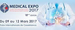 Maroc : La 18ème édition du salon International de Santé MEDICAL EXPO 2017