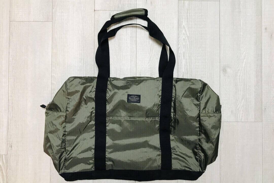 キャリーオンバッグ『Nスーベニアバッグ37』 軽量の折りたたみボストンバッグならコレ!