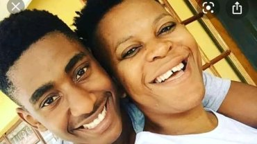 Zodwa and Vusi in happier times