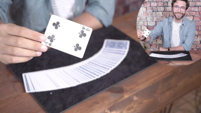 Virtual Card Trick