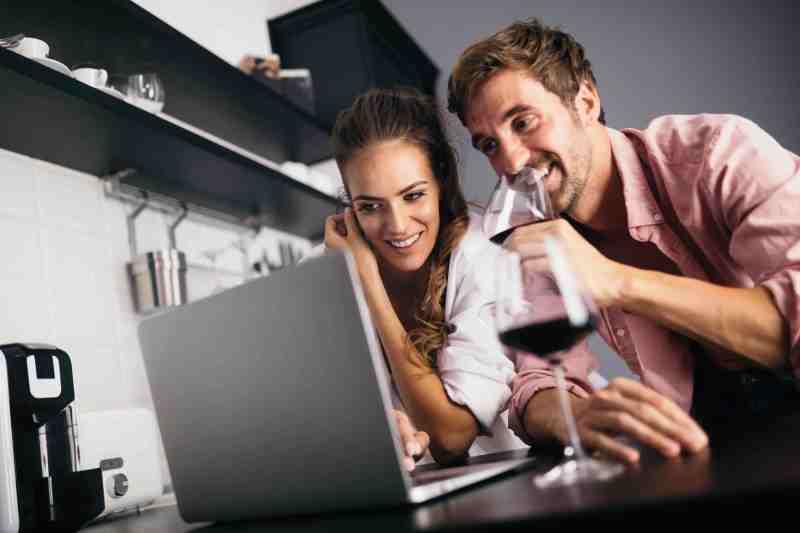 Virtual happy hour entertainment
