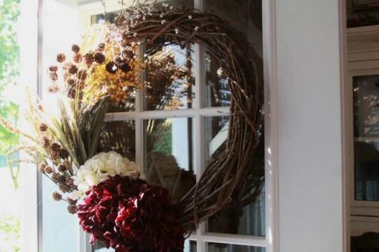 DIY Fall Wreath In 5 Minutes