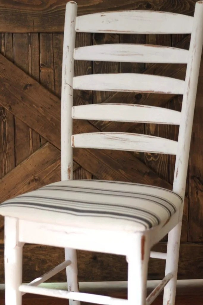 How To Reupholster Dining Chairs In 15 Minutes Two Paws