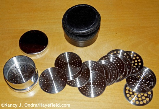 Diamond sieve set at Hayefield.com