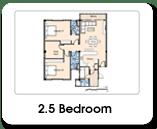 The-Crescent - 2.5 Bedroom Floor Plan