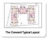 The-Crescent - Typical Floor Plan