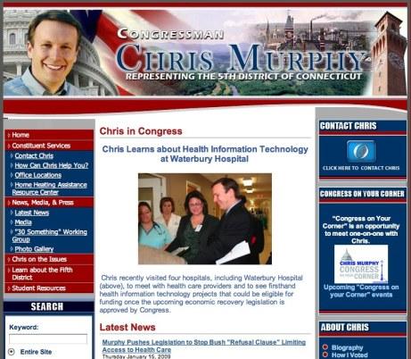 colleen-meets-congressman-murphy