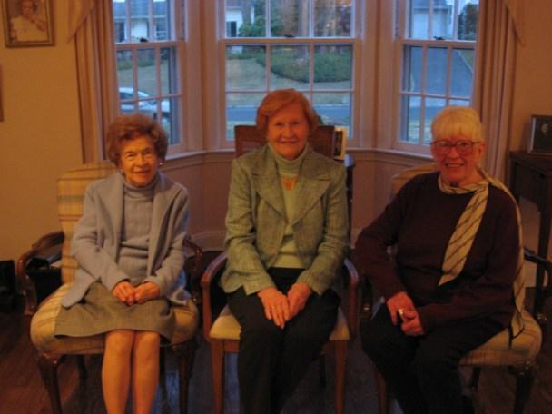Second Cousins Angela Dolores Beattie, Regina Haffey and Jeanne Hayes