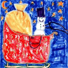 Ann Hayes Christmas Art