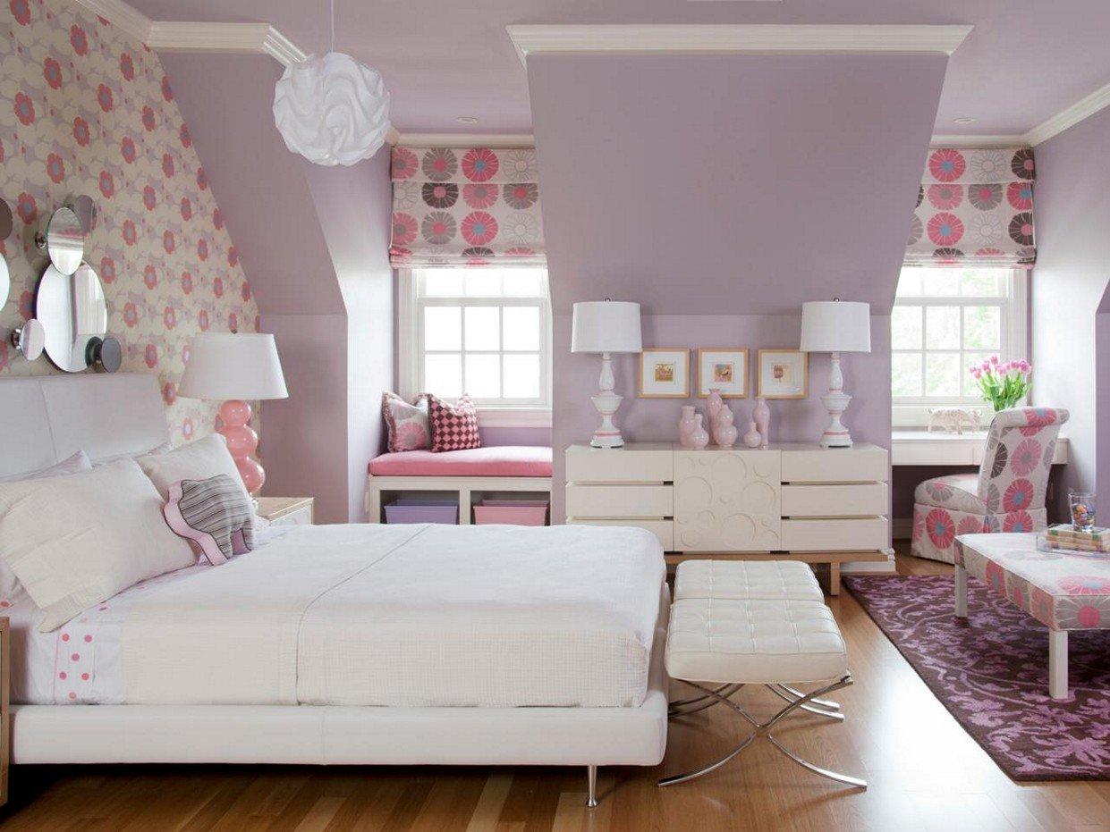 Girls-Room-Paint-Ideas-Flowers - Bloomington Indiana Hayes ... on Room Painting id=65182