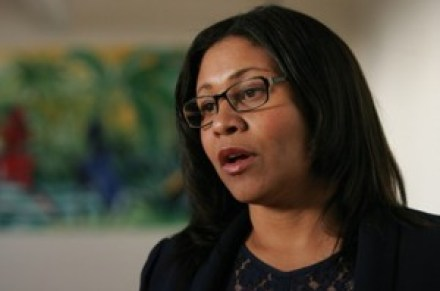 Supervisor London Breed l photo via SF Examiner