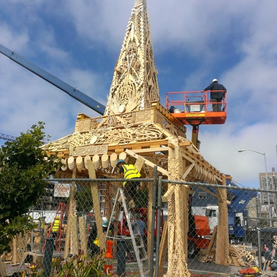 Building Stages -Temple at Patricia's Green