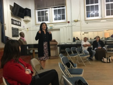 public safety meeting with Jennifer Choi