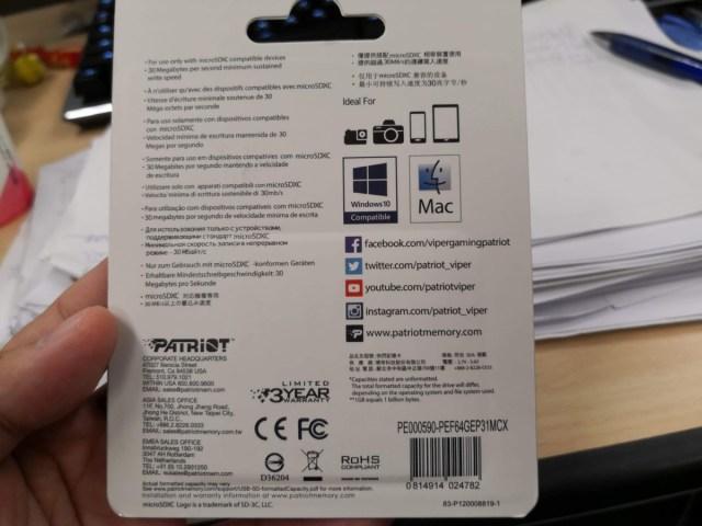 Patriot美商博帝EP MicroSDXC UHS-1 U3 V30 A1 64G記憶卡/年貨怎麼買?找LINE購物就對了!邊買邊賺LINE Points回饋~PChome 24h購物/手機應用程式line/數位3c/數據儲存/網路購物/4k錄影記憶卡/網路購物 3C相關 攝影 民生資訊分享