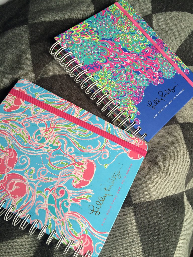 Lilly Pulitzer 2015-2016 Agenda Review (Part 1)
