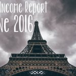 June 2016 Monthly Income Report | Hayle Olson | www.hayleolson.com