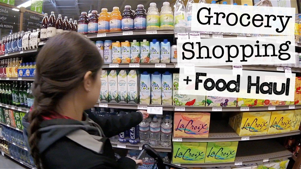 Come Grocery Shopping with Me + Food Haul