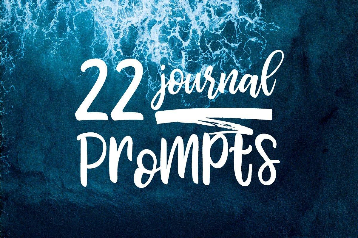 22 Journaling Ideas 2018