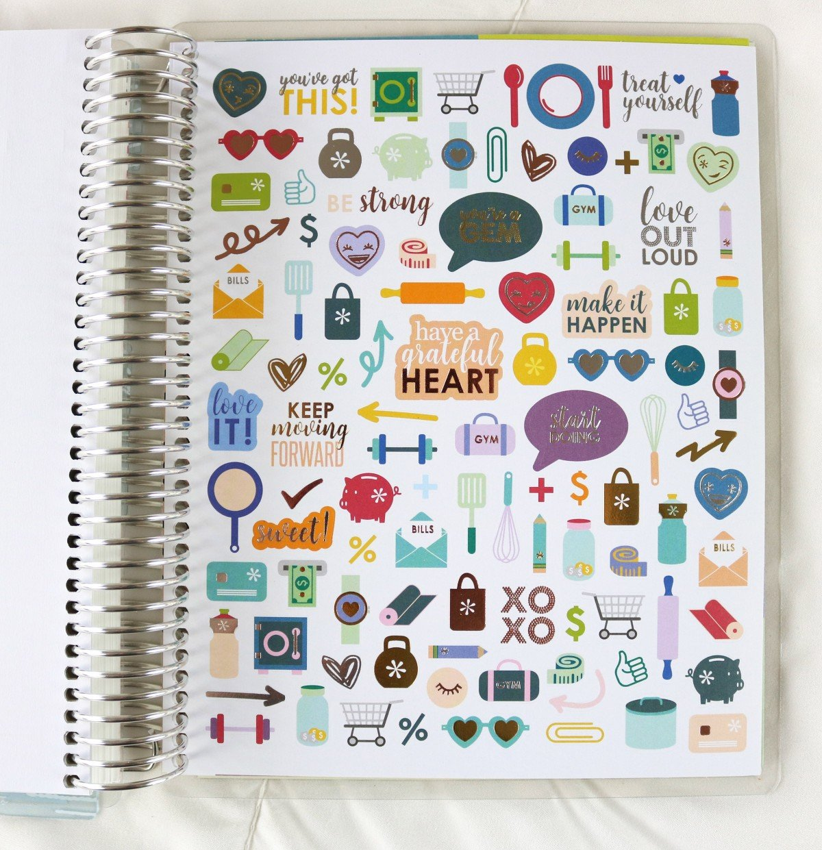2019 Life Planner Deco Stickers