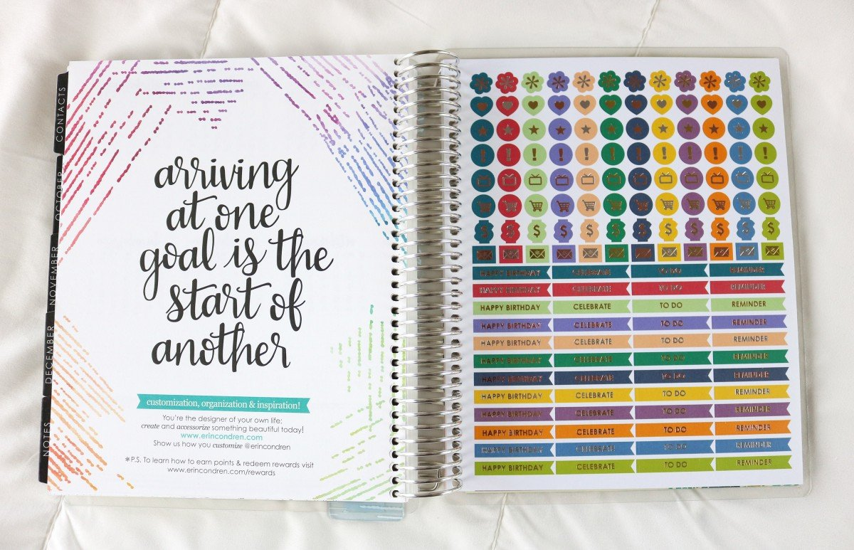 2019 Life Planner Icon Stickers