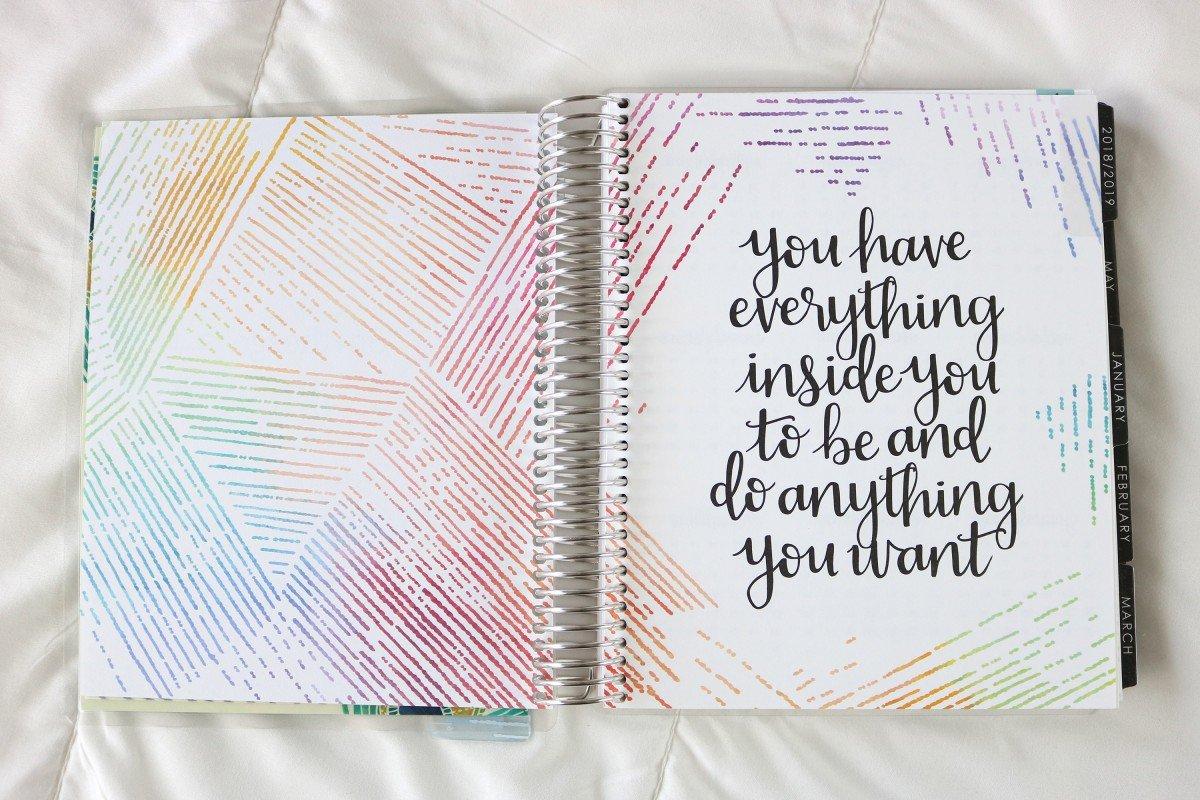 2019 Life Planner Neutral Color Scheme