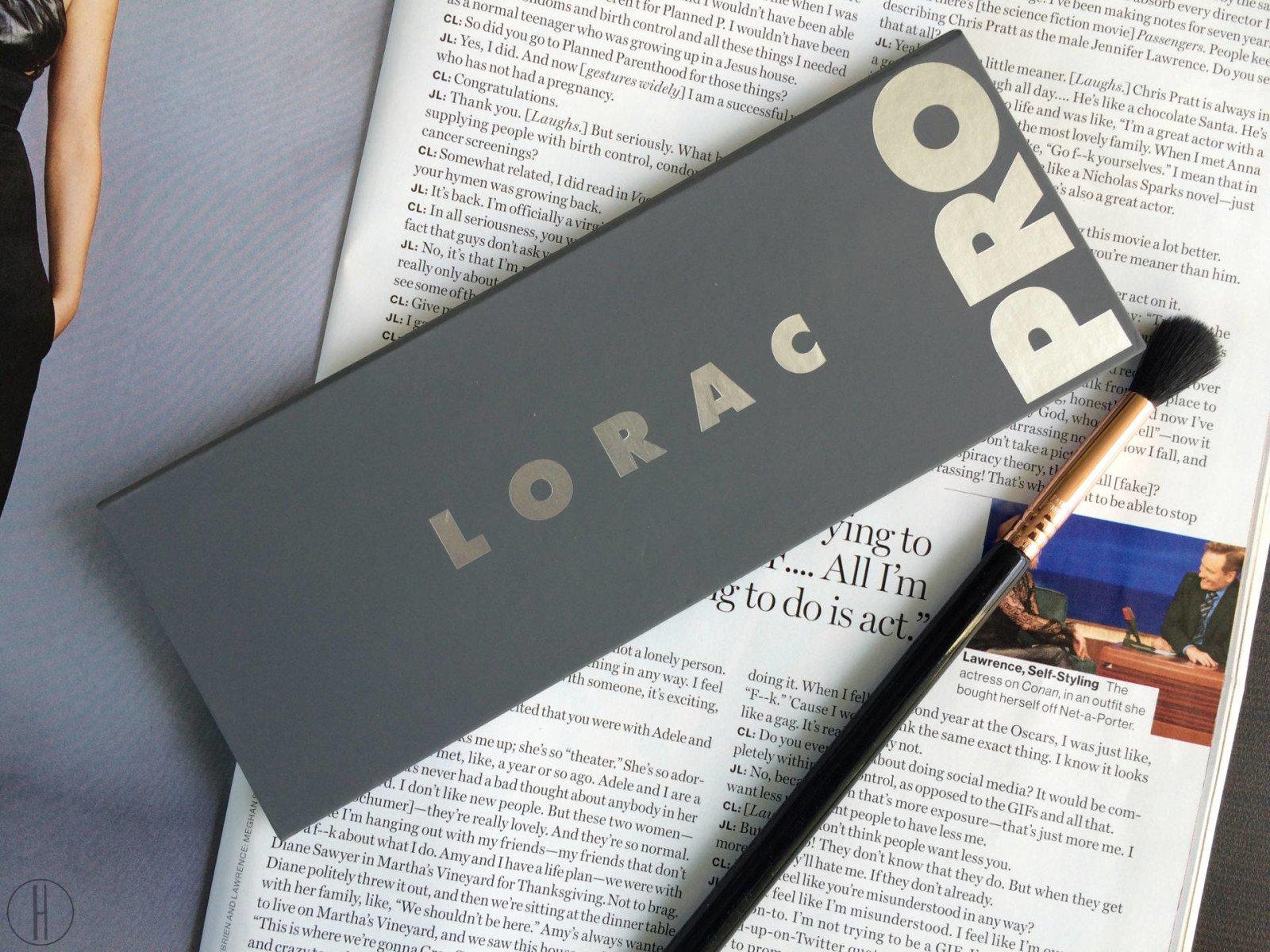 Lorac Pro 2 Palette | hayle santella
