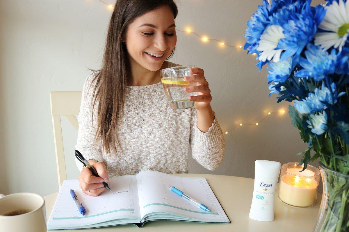 Upgrading My Morning Routine | College Tips | hayle santella | www.haylesantella.com