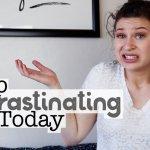 How To Stop Procrastinating | College Tips | hayle santella | www.haylesantella.com