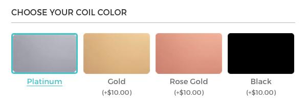 Erin Condren Coil Colors
