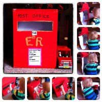 Making A Postbox - Toddler Craft