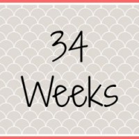 Twin Pregnancy Diary - 34 Weeks
