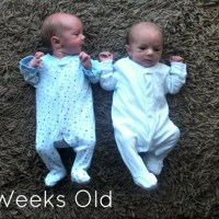 Twin Babies - Week Two
