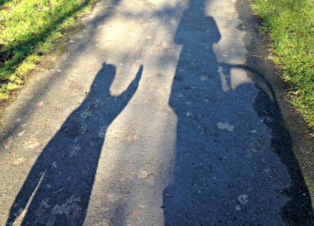 School Walks Shadows