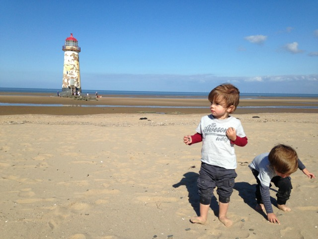 Family Holiday Talacre Beach