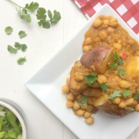 Spicy Dahl and Jacket Potato with McCain