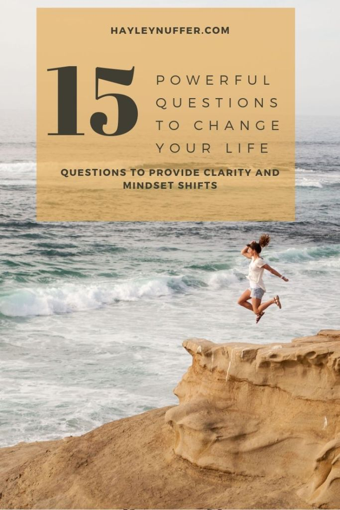 powerful questions to change your life