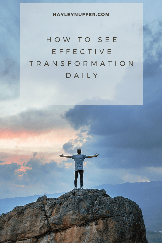 living in transformation daily