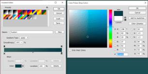 Gradient colour picker