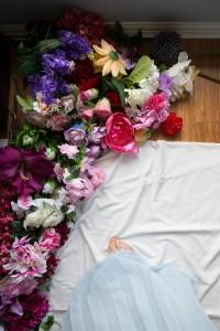 Flowers for portrait