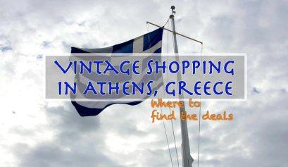 Vintage Shopping Athens Greece Travel Writing Workshops Classes Retreats
