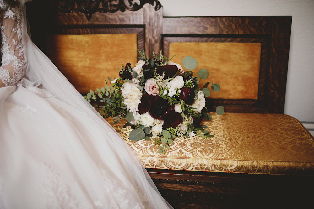 Blair and Jordon | Our Lady of Lourdes Cathedral and Glover Mansion