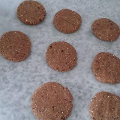 galletas avena plátano chocolate canela