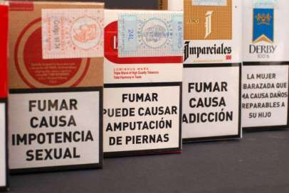 cajetillas tabaco mensajes españa