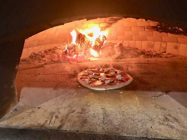 Wood Fired Pizza Oven at Hays City Ice House - Mouth watering pizzas!