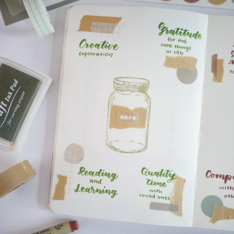 Creative Journaling Prompt #3 - More and Less List