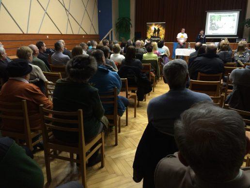 Közönségtalálkozó - Csilizradvány