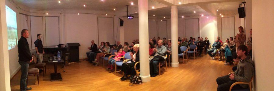 Hazajáró közönségtalálkozók Dél-Németországban