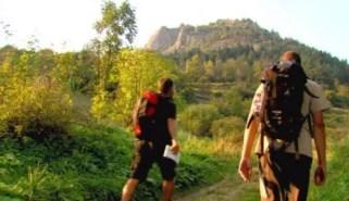 Úton a Helivágási-sziklákhoz