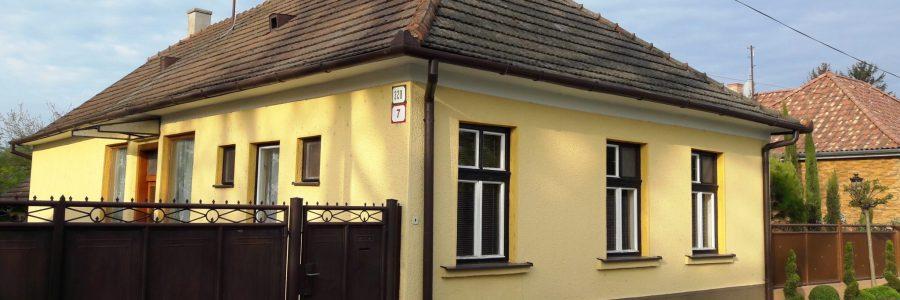 Szentesi családi ház – Nyékvárkony