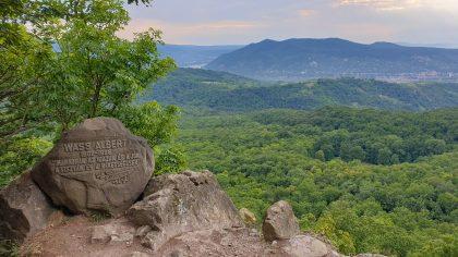 Visegrádi-hegység - Kilátás a Borjú-főről